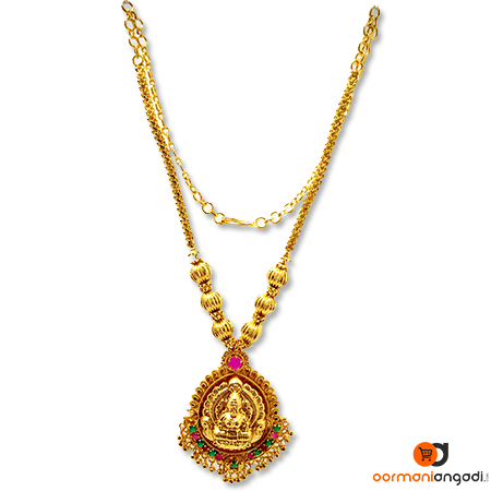 1 Gram Gold Plated Necklace.