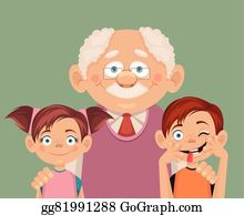 Grandchildren Clip Art.