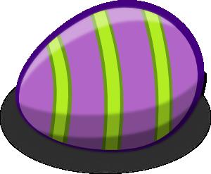 Violet Easter Egg Clip Art at Clker.com.