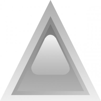 Free Led Triangular 1 (grey)s Clipart and Vector Graphics.