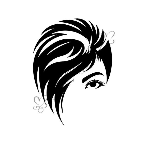 Hairdresser clipart comb one hair, Hairdresser comb one hair.