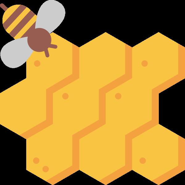 Honeycomb clipart pixel, Honeycomb pixel Transparent FREE.