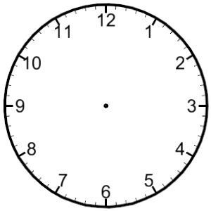 Clip Art of Clocks & Time.