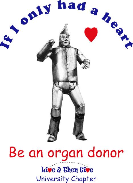 April is organ donor month.