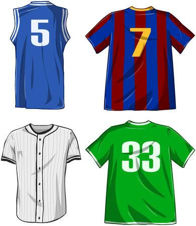 Sports jersey clipart 1 » Clipart Station.