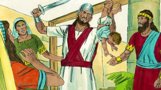 Solomon Judges Wisely.
