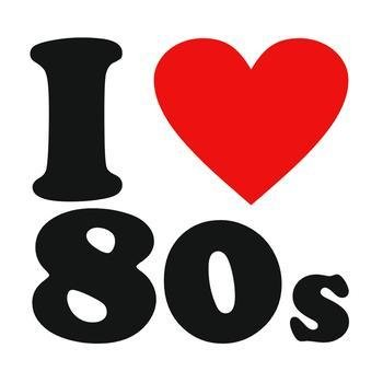 80\'s clipart i love the 80, 80\'s i love the 80 Transparent.