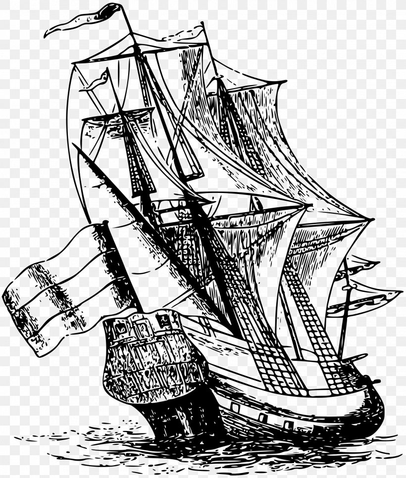 Netherlands Sailing Ship Clip Art, PNG, 2036x2400px.
