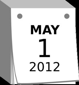 May 1 2012 Clip Art at Clker.com.