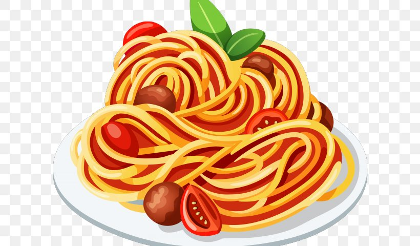 Spaghetti With Meatballs Pasta Italian Cuisine Bolognese.