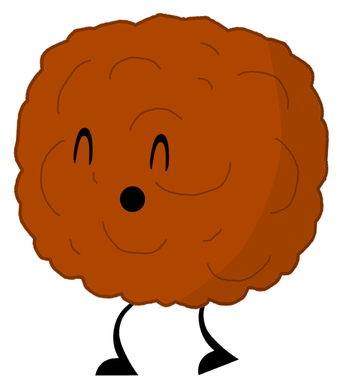 One Meatball Clipart.