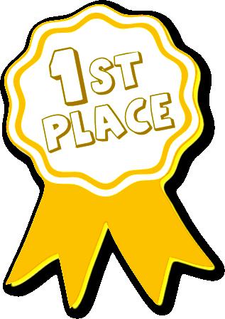 1 Award Clipart.
