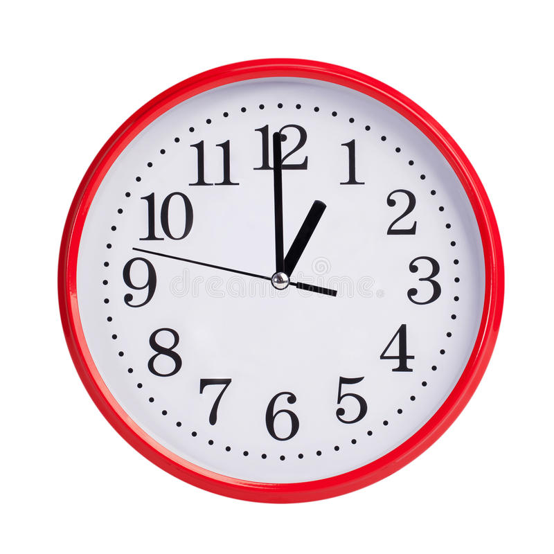 One O\'clock Clipart.