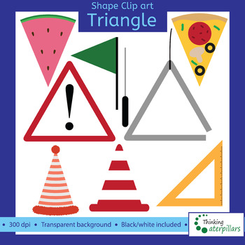 Triangle objects 2D Clip art (shapes).