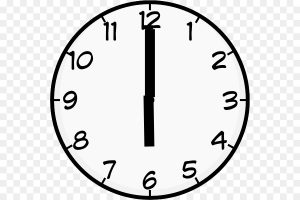 9 o\'clock clipart 1 » Clipart Station.