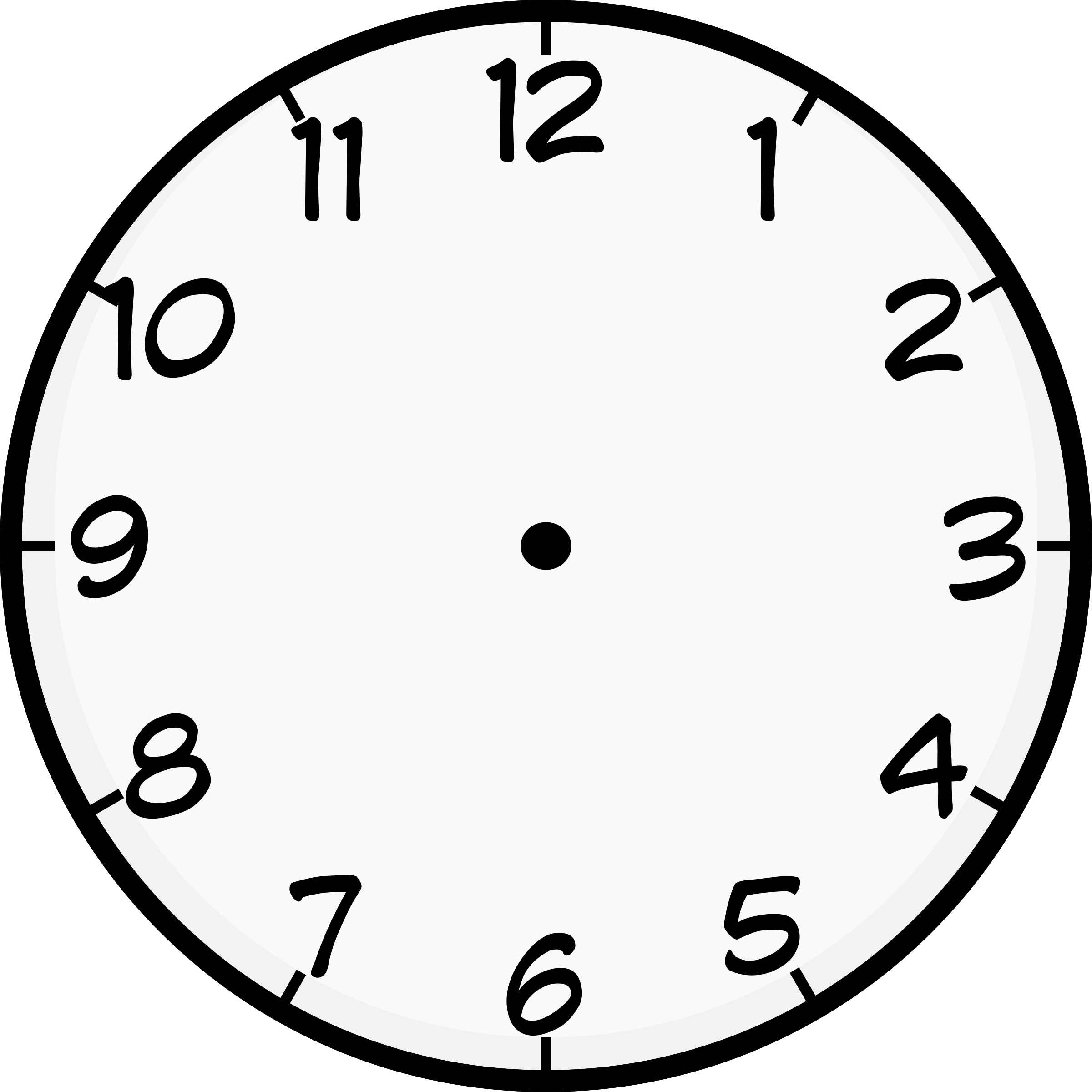 Clocks clipart 7 o clock, Clocks 7 o clock Transparent FREE.