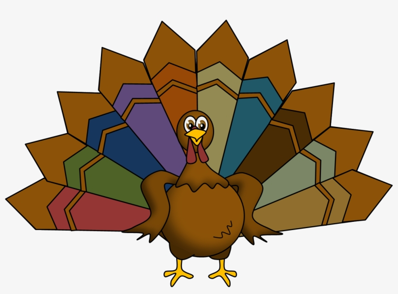Feather Clipart Thanksgiving Turkey.