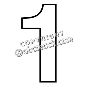 Free Number 1 Outline Cliparts, Download Free Clip Art, Free.