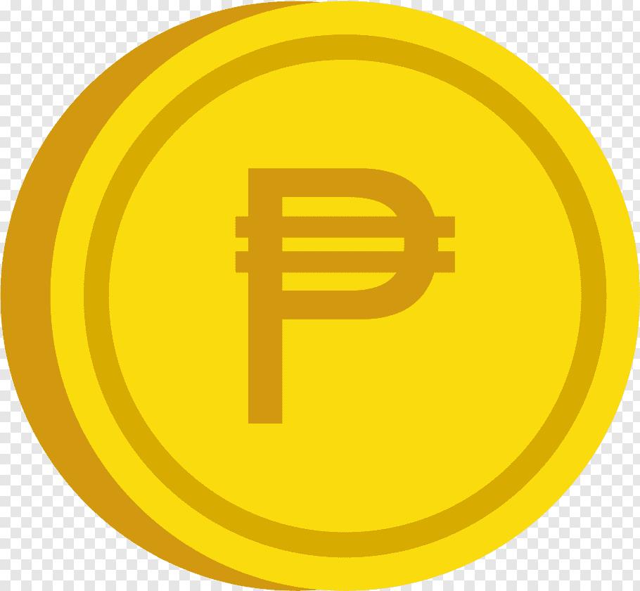 Gold peso coin logo, Coin Philippine peso, PESO COIN free.