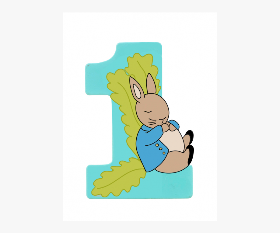 Number 1 Clipart Turquoise.