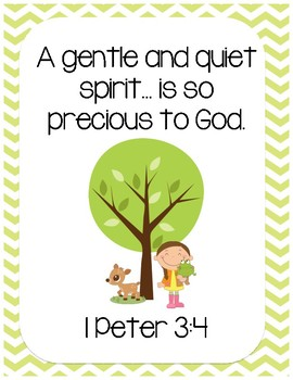 Play With Me Bible Verse Printable (I Peter 3:4).