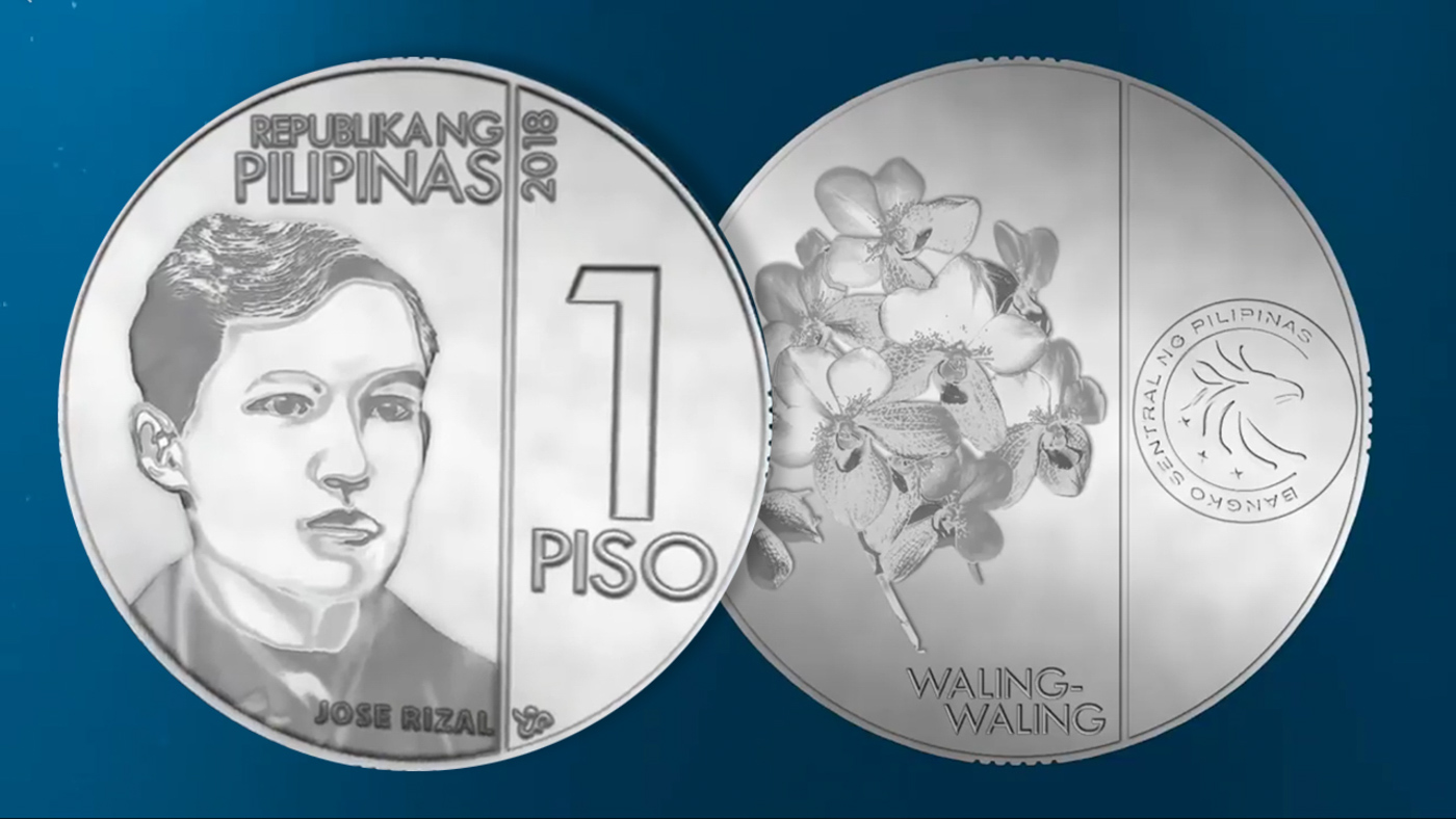 LOOK: Newly designed Philippine coins.