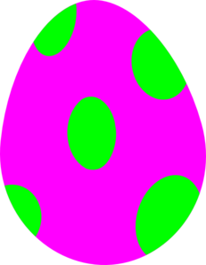 Easter egg clipart free 1 » Clipart Station.