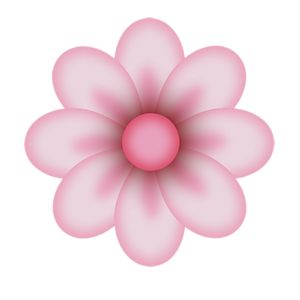Pink flower clipart 1 » Clipart Station.