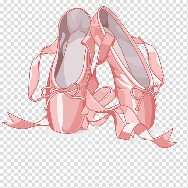 Slipper Ballet shoe Pointe shoe , ballet transparent.
