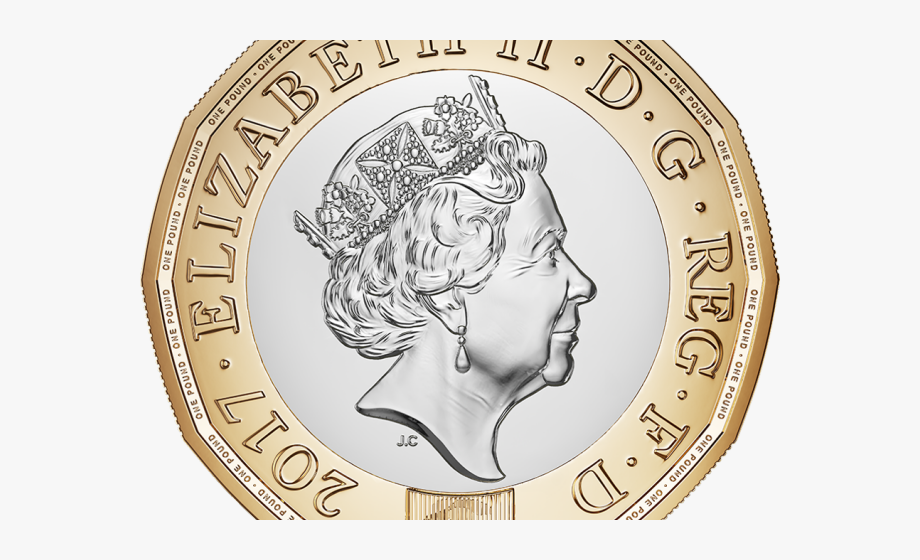 Coin Clipart Pound Coin.