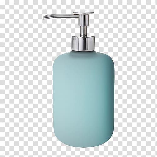 Blue pump bottle illustration, Soap dispenser IKEA Soap dish.