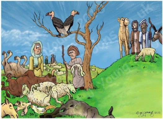 free bible images of moses and the plague of dead animals.