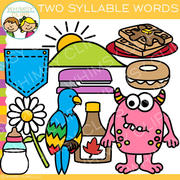 Syllables clip art , Images & Illustrations.