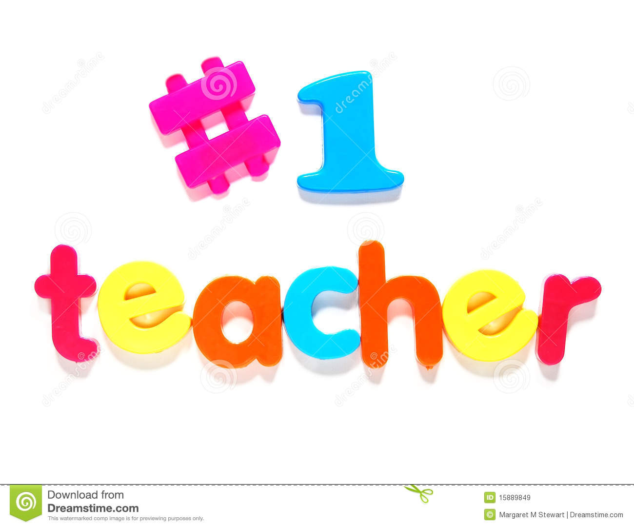 Number one teacher stock image. Image of education, teacher.