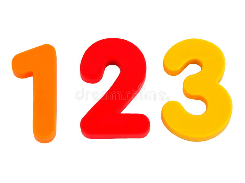 Numbers 1 2 3 Clipart.