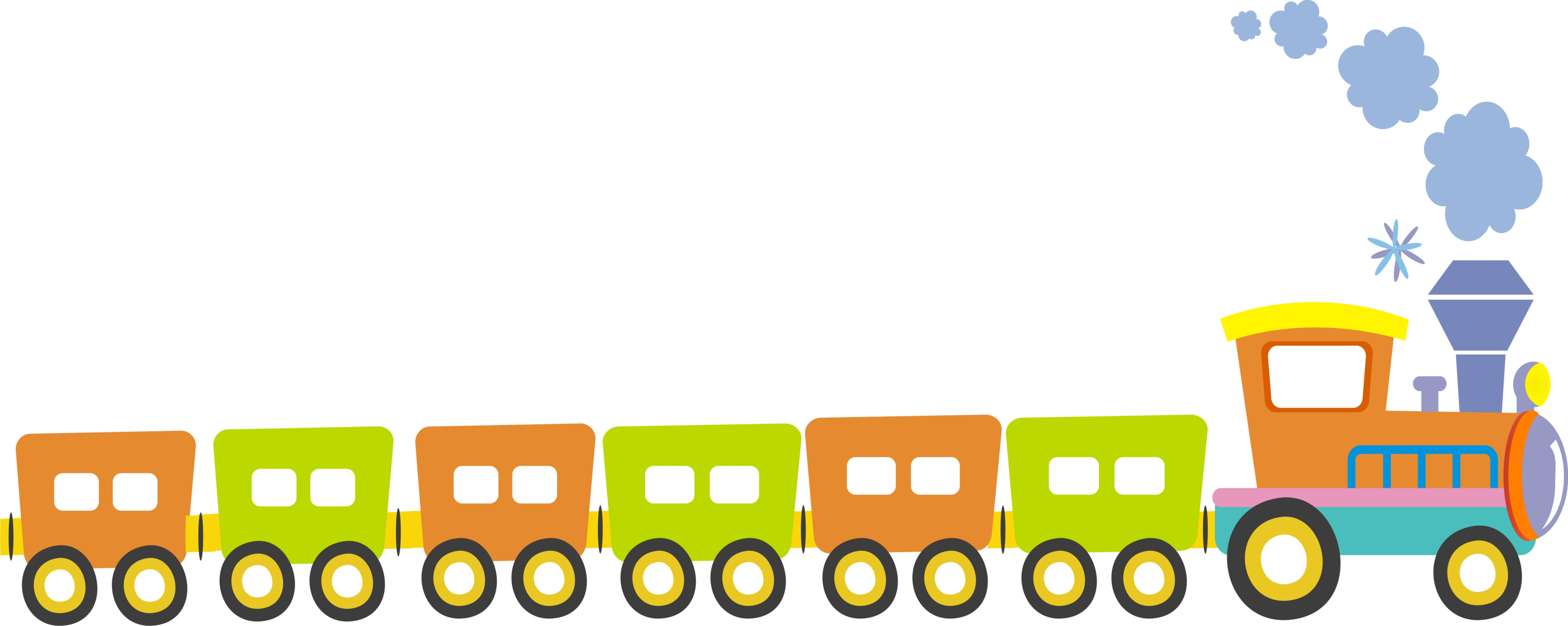 Cartoon Train Clipart at GetDrawings.com.