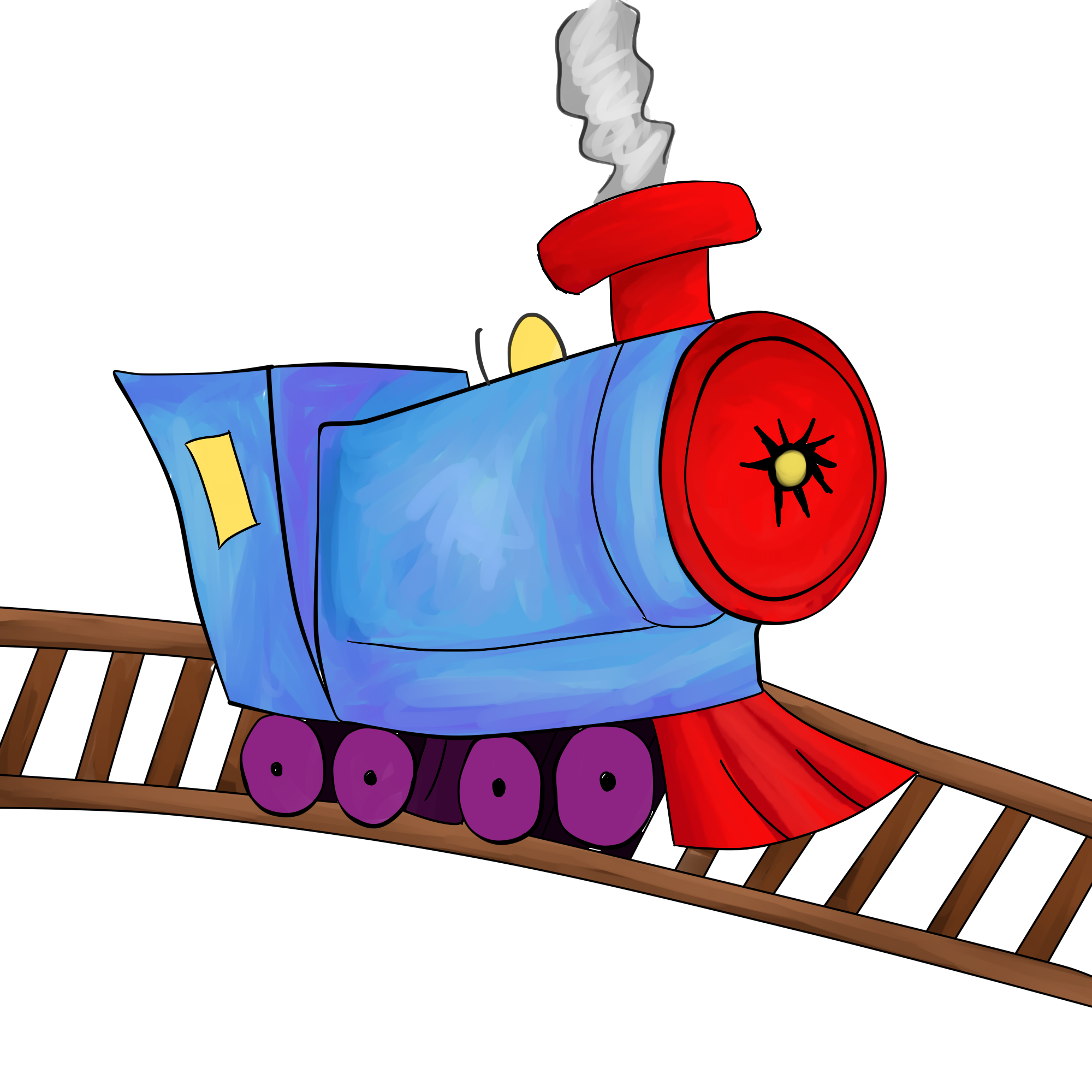 Image of choo train clipart 1 toy clip art.