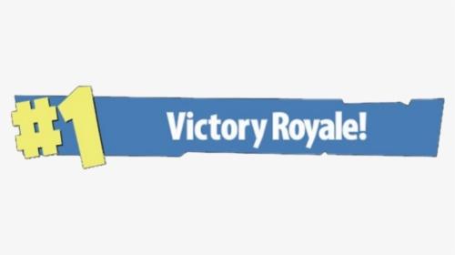 Clip Art 1 Victory Royale Transparent.