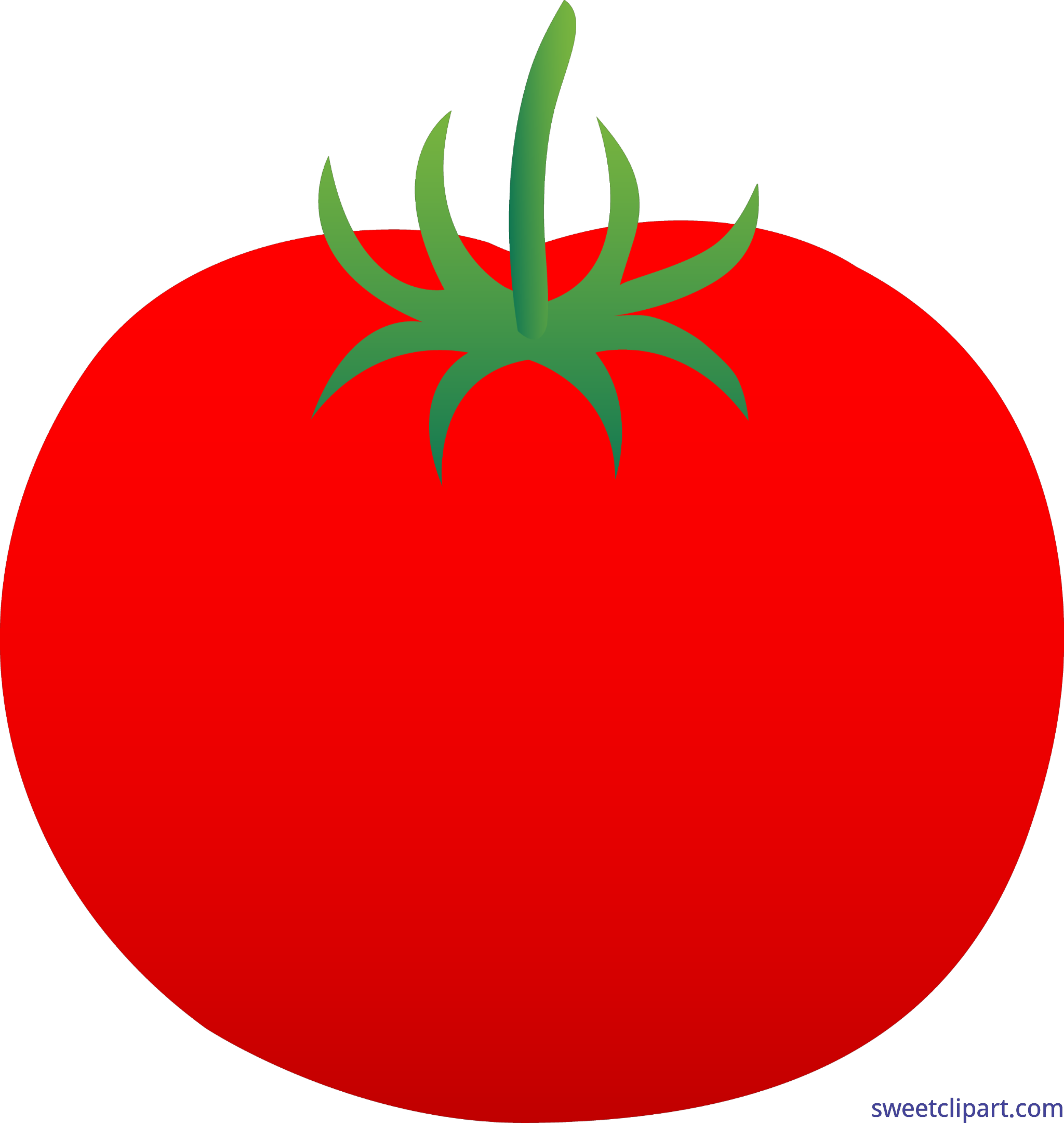 Red Tomato Clip Art.