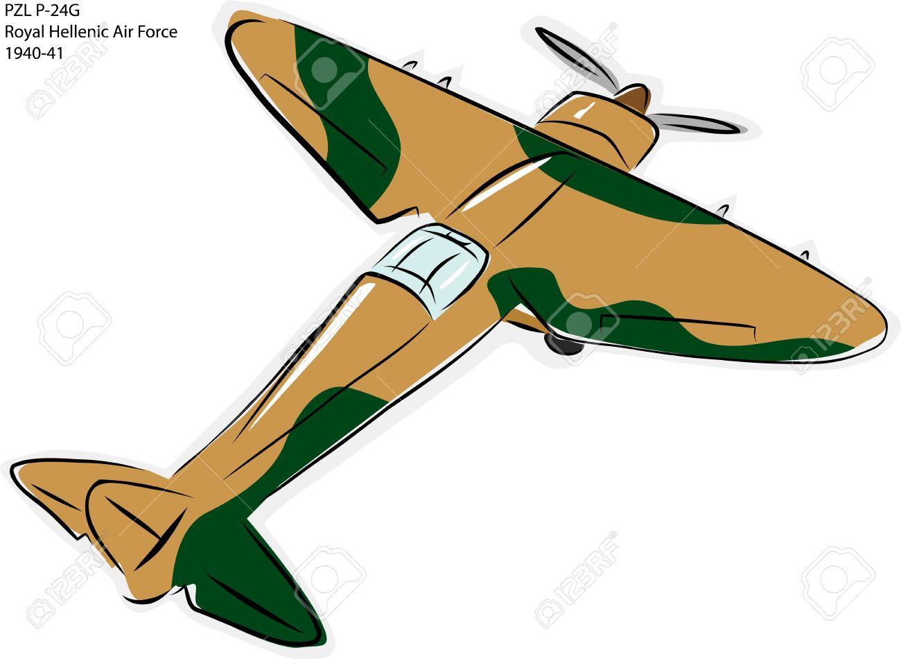 Sketch Of PZL P.