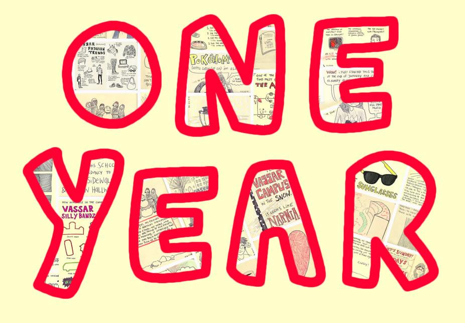 1 Year Anniversary Clipart.