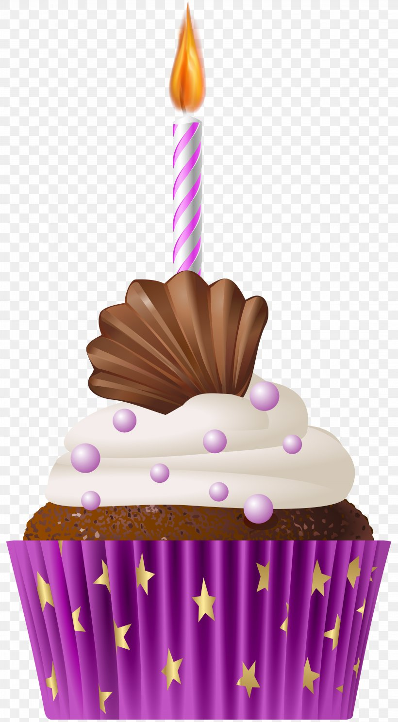 Muffin Cupcake Birthday Cake Clip Art, PNG, 4407x8000px.