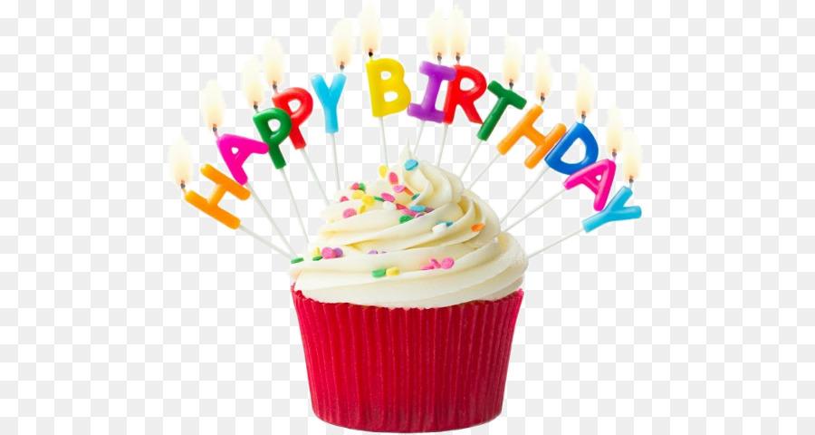 Birthday Cupcakes Birthday Candles Muffin.