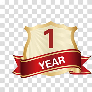One Year Warranty PNG clipart images free download.
