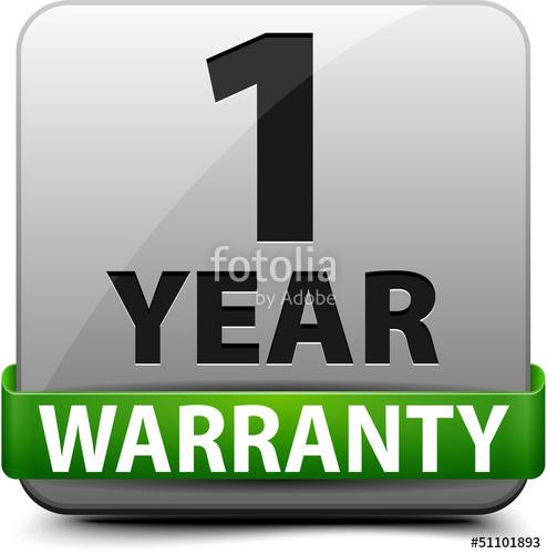 1 year warranty\