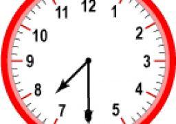 Half Past 7 00 O Clock Clipart ClipArtHut Free Clipart, 10.