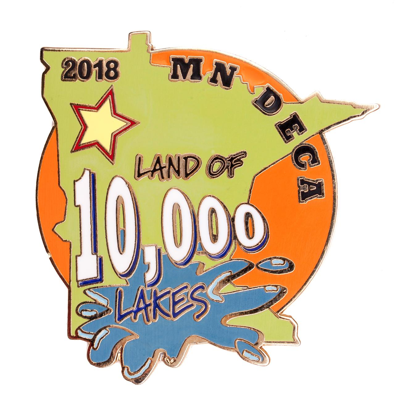 Minnesota DECA ICDC 2018 Land of 10,000 Lakes (PN.