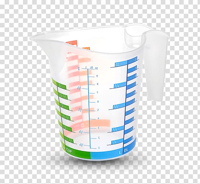 Measuring cup Plastic Kitchen Liter, others transparent.