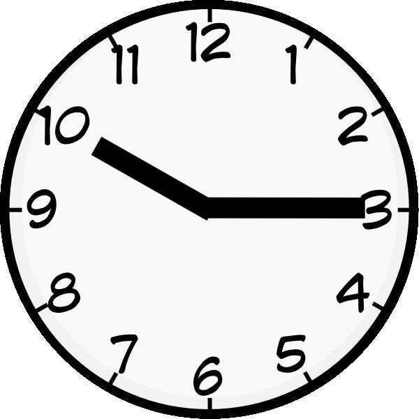 10 15 O Clock , Transparent Cartoon.