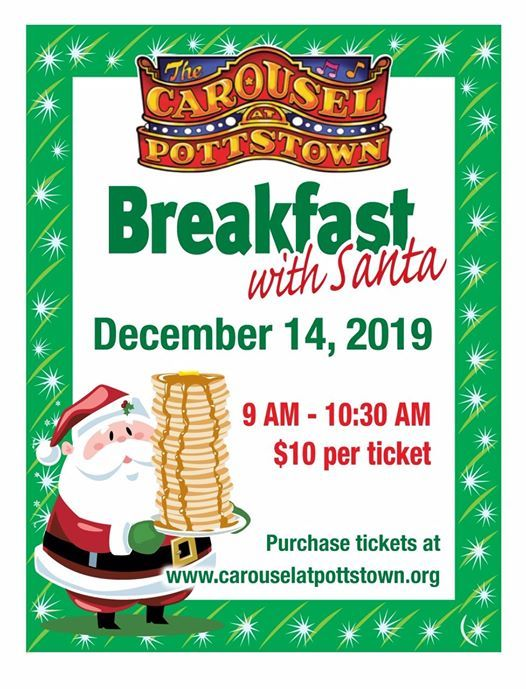 Breakfast with Santa 12/14/2019 9:00 am to 10:30 am at.